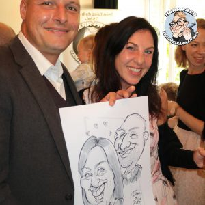 Bester Karikaturist Hochzeit Bester Schnellzeichner Herr Fred