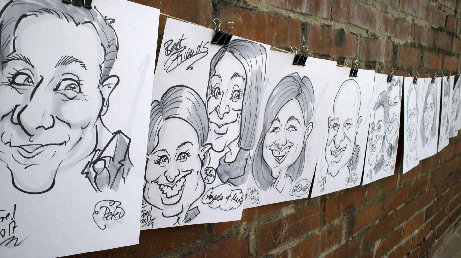 12-15 Karikaturen in der Stunde